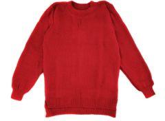 Теплий джемпер для дівчинки (червоний), 1416
