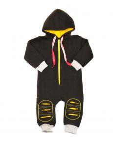 Трикотажний чоловічок для дитини (чорний), Baby City 1608