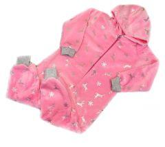 Плюшевий чоловічок для дівчинки (рожевий), Мамине чадо 32-24
