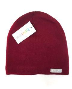Трикотажна шапка для дитини (темно-червона), Talvi 0288