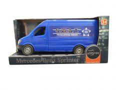"""Автомобіль """"Mercedes-Benz Sprinter S.W.A.T."""" вантажний (синій), Tigres 39653"""