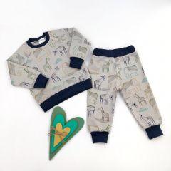 Трикотажний костюм для хлопчика (ANIMALS), Coolton