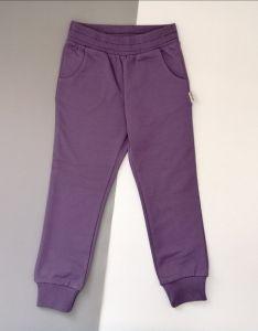 Трикотажні штани для дівчинки  (фіолетові) ШТ-269