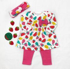 Трикотажний комплект-трійка для дівчинки, Coolton