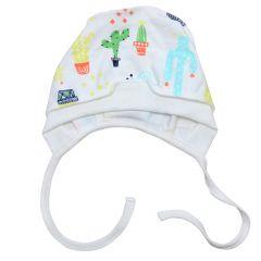 Трикотажна шапочка для малюка (кактуси),Minikin 208903