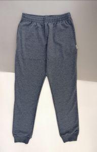 Трикотажные штаны для мальчика (серо-синий меланж), Robinzone ШТ-272