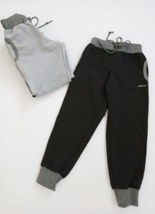 Спортивні штанята для дитини 1шт. (темно-сірі), 11611 Mokkibym