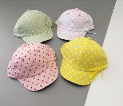 Летняя кепка для девочки (белая), Kitti 2100-03