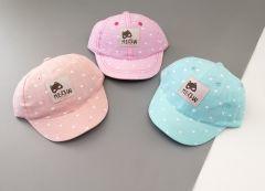 Літня кепка для дівчинки (світло-голуба), Kitti 2000-06