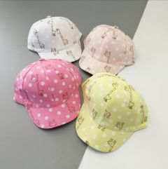 Летняя кепка для девочки (светло-желтая), Kitti 2100-06