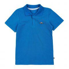 Футболка-поло для хлопчика (синя), 3ЛК139
