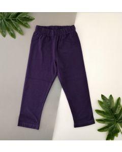 Трикотажні лосіни для дівчинки (фіолетові), ЛС-133