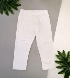 Трикотажні лосіни для дівчинки (білі), ЛС-133