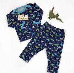 Трикотажна піжама для дитини (динозаврики), Coolton