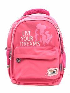 """Рюкзак для дівчинки """"Live your dreams"""" (рожевий), 8513"""
