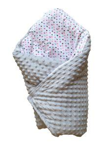 Ковдра-конверт для новонароджених (сірий), BODIK