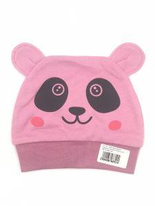 Трикотажна шапочка для дитини (рожева), Lotex 411-01
