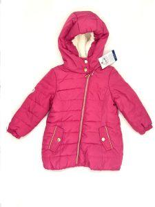 Тепле пальто з флісовою підкладкою для дівчинки, 3A3506