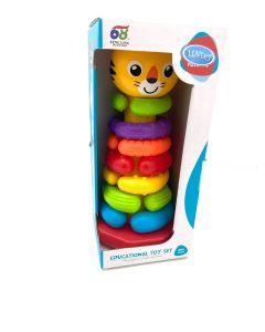 """Розвиваюча іграшка """"Пірамідка"""", Lindo 618-61"""