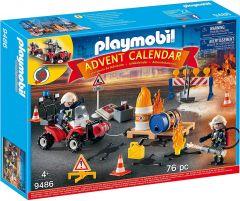 """Адвент-календар """" Пожежно-рятувальна служба"""" Playmobil, 9486"""