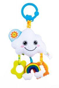 """Іграшка-підвіска із дзеркальцем """"Хмаринка"""" Balibazoo 80218"""