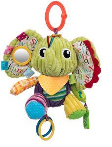 """М'яка іграшка з гризунцем слоник """"Елвіс"""" серія """"Активне життя"""" Balibazoo 82398"""