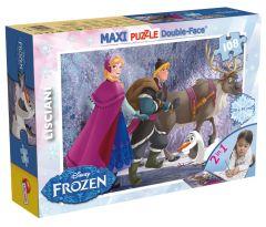 Пазл двосторонній Frozen/Крижане серце, Maxi 108 шт, 46898, LISCIANI