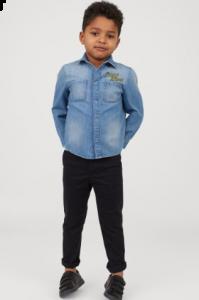 Джинсова сорочка для хлопчика