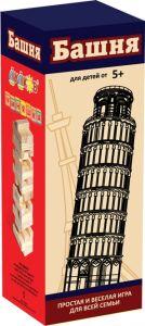 """Гра настільна """"Вежа"""" (44 деталі) - дерево, Умняшка 20060"""