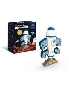 "Конструктор магнітний ""Ракета"" (8 дет), Magnetic Toys 347"