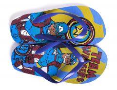 """В'єтнамки для хлопчика """"Avengers"""" AV 52 51 291/292 (блакитні)"""