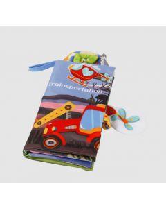 Розвиваюча книжечка для дітей, Lindo 668-123AB