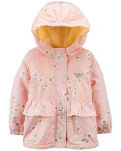 Куртка з флісовою підкладкою для дівчинки