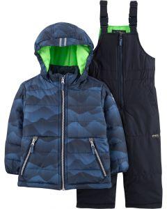 Зимовий комбінезон для хлопчика