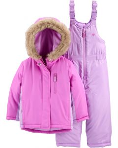 Зимовий комбінезон для дівчинки
