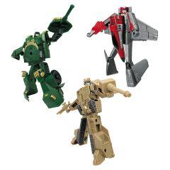 Ігровий набір - Робот-трансформер, Танк, Літак, ROADBOT 82040r