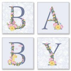 """Картина за номерами """"BABY прованс"""" 18*18 (4 шт.), Ідейка СН107"""