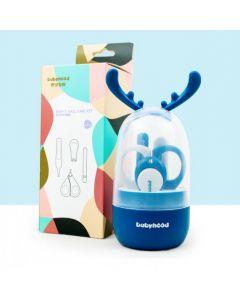 Набір Babyhood косметичний для новонароджених Блакитний (BH-901B)