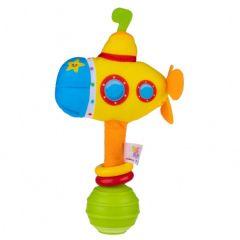 """М'ягка іграшка брязкальце """"Субмарина"""", Balibazoo 80396"""