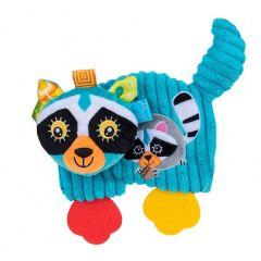 """Плюшевая игрушка-прорезыватель """"Ленивец Томми"""" (19 см.) , Balibazoo 80153"""