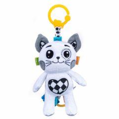 """Музична іграшка-підвіска з прорізувачем  """"Кошеня"""" Balibazoo 80184"""