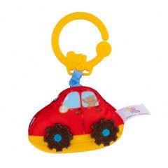 """М'ягка підвісна іграшка з вібрацією """"Автомобіль"""", Balibazoo 80485"""