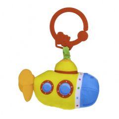 """М'ягка підвісна іграшка з вібрацією """"Субмарина"""", Balibazoo 80749"""