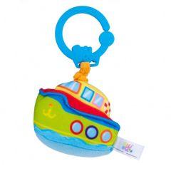 """М'яка підвісна іграшка з вібрацією """"Човен"""", Balibazoo 80336"""