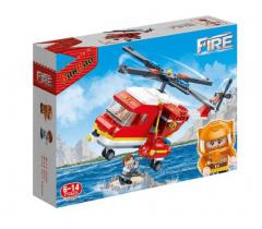 """Конструктор """"Пожежники/вертоліт"""", Banbao 7128"""