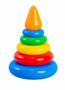 Розвиваюча іграшка Пірамідка 7 елементів (конус), Tigres 39116