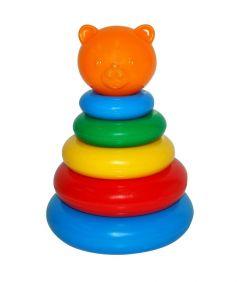 Розвиваюча іграшка Пірамідка 7 елементів (тигр), Tigres 39116