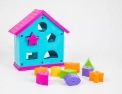 Розвиваючий будиночок-сортер (бірюзовий), Tigres 39351
