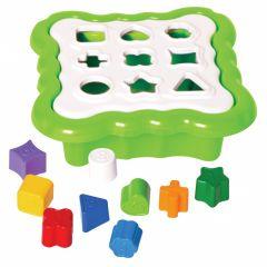 """Іграшка - сортер """"Розумні фігурки"""" 10 ел. (зелений),Tigres 39521"""