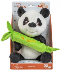 "М'яка іграшка - панда ""Be in love"", 22 см, Tigres, ІГ-0069"